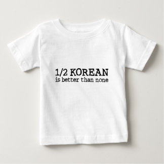 Halv korean tee