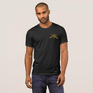 Halv liter-idrottshallgenomköraren personifierar t-shirts