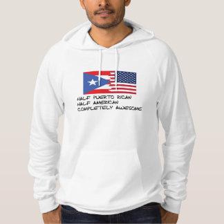 Halv Puerto Rican fullständigt fantastisk Tröja Med Luva
