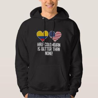 Halvt colombianskt är bättre än inga munkjacka