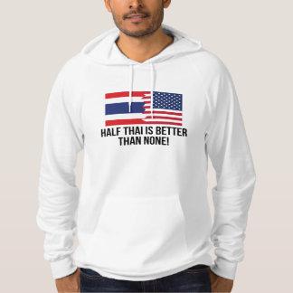 Halvt thailändskt är bättre än inga hoodie