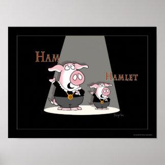 HAM-/HAMLETaffisch av Sandra Boynton Poster