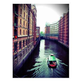 Hamburg eller Venedig? Vykort