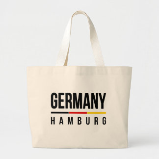 Hamburg Tyskland Jumbo Tygkasse