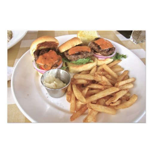 hamburgare konstfoto