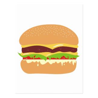 hamburgare vykort