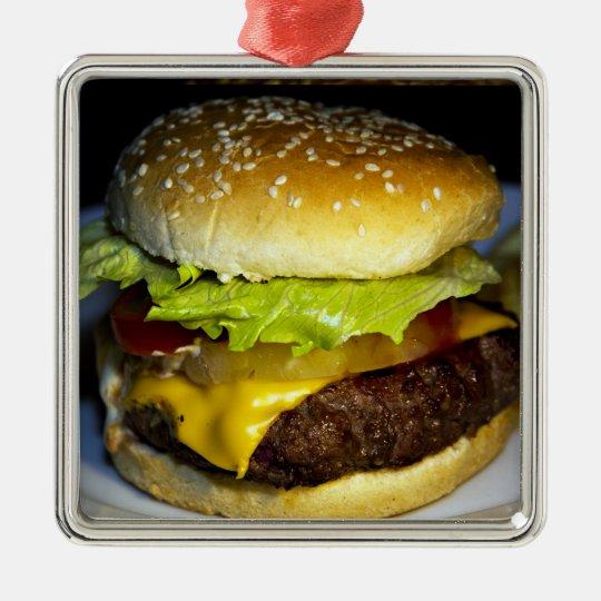 Hamburger Julgransprydnad Metall