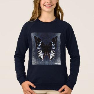 HAMbWG - barns T-skjorta - marinfjäril T-shirt