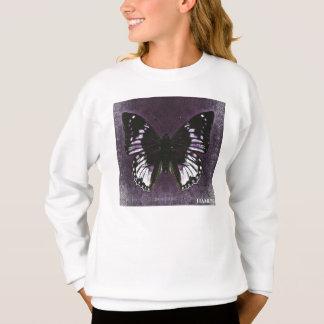 HAMbWG - barns T-skjorta - purpurfärgad fjäril Tee