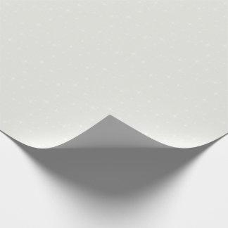 HAMbWG som slår in papper - blek kräm/vitstjärna Presentpapper