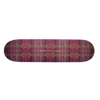 HAMbyWG - Skateboard - magentafärgad öbo