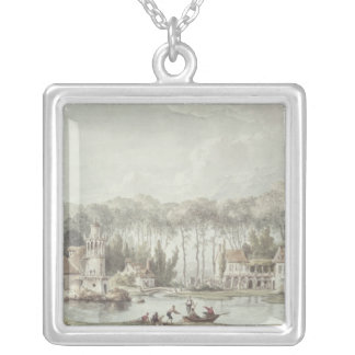 Hameauen, Petit Trianon, 1786 Silverpläterat Halsband