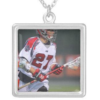 HAMILTON KANADA - AUGUSTI 06: Kevin Buchanan #27 Silverpläterat Halsband