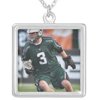 HAMILTON KANADA - JULY1:  Adam Rand #3 2 Silverpläterat Halsband