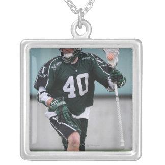 HAMILTON KANADA - JULY1:  Matt Danowski #40 2 Silverpläterat Halsband