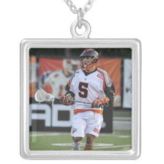 HAMILTON KANADA - JUNI 18:  Casey Cittadino #5 Silverpläterat Halsband