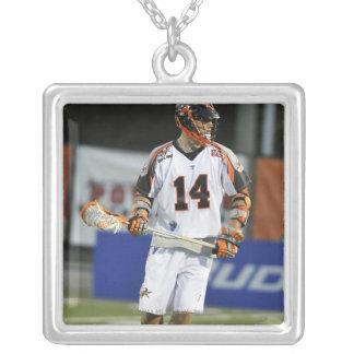 HAMILTON KANADA - JUNI 18:  Drog Westervelt Silverpläterat Halsband