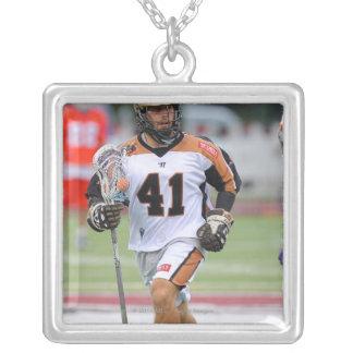 HAMILTON KANADA - JUNI 25: Jordanien Levine #41 2 Silverpläterat Halsband