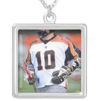 HAMILTON KANADA - JUNI 25: Jordanien McBride #10 4 Silverpläterat Halsband