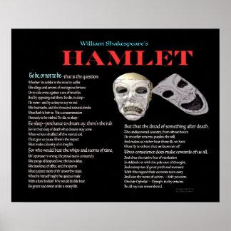 Hamlet som är eller inte som är poster