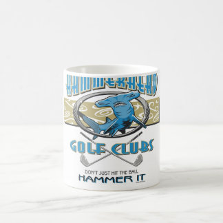 Hammerheadgolfklubbar Kaffemugg
