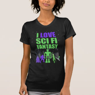 Hämnd på maj6e - jag älskar kvinnor för scifi-fant t shirts