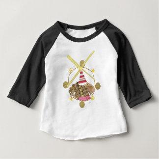 Hamsterpariserhjulbabyen Tre-Inkvarterar den bästa T-shirt