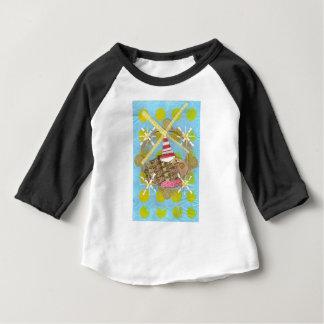 Hamsterpariserhjulbabyen Tre-Inkvarterar den bästa Tshirts