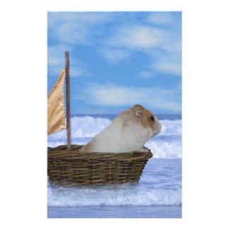 Hamstersjöman Brevpapper