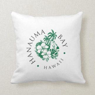 Hanauma fjärd Hawaii - Aloha Kudde