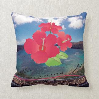 Hanauma fjärd Hawaii Kudde