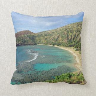 Hanauma fjärd Oahu Hawaii Kudde
