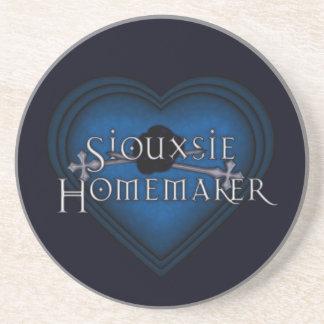 Handarbete för Siouxsie Homemakerblått Underlägg