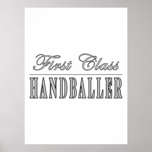 Handboll och Handballers: Klassificera först Handb