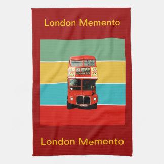 Handduk för London MementoTea Kökshandduk