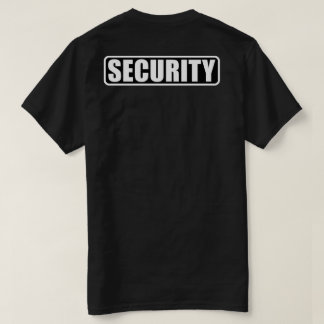 Händelsesäkerhetsbesättningen - bekläda och dra t-shirt