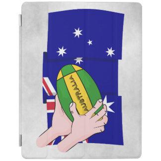 Händer för tecknad för boll för Australien iPad Skydd
