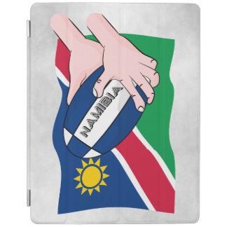Händer för tecknad för boll för Namibia iPad Skydd