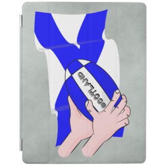 Händer för tecknad för supportrar för boll för iPad skydd
