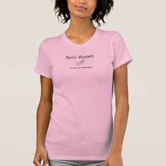 """""""Händer Shots"""" vårda humor T Shirt"""