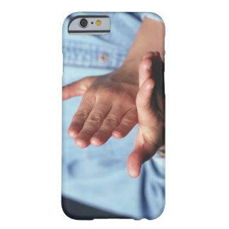 Händerdanandegest: man räcker på - rymd raksträcka barely there iPhone 6 fodral