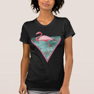 Handflatan för Wellcoda Flamingoparadis roligt för T Shirt