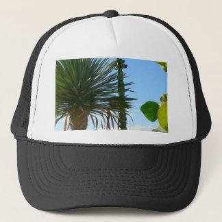 Handflatan och kaktus truckerkeps