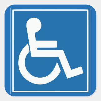 """Handikappet undertecknar 1,5"""" klistermärken"""
