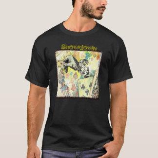 """""""Handla cards"""", manar grundläggande mörka T-tröja T-shirt"""