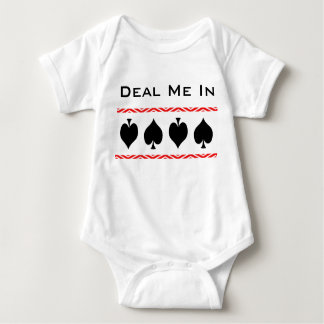 Handla mig i modern korthajbaby t shirt