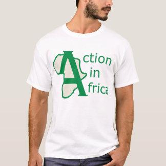 Handling i afrikautslagsplats t-shirts