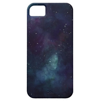 Handpainted galax barely there iPhone 5 fodral