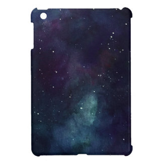 Handpainted galax iPad mini fodral