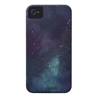 Handpainted galax iPhone 4 Case-Mate case